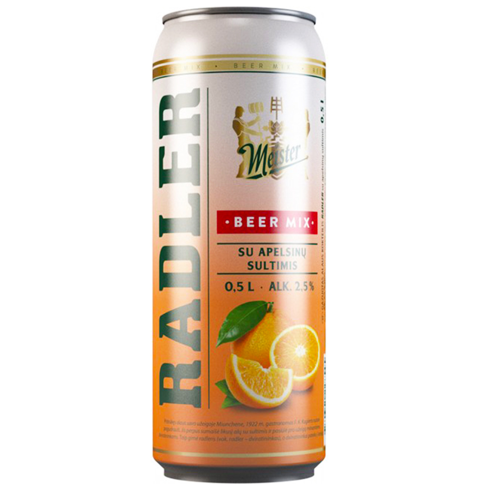 FRUITY BEER RADLER Orange