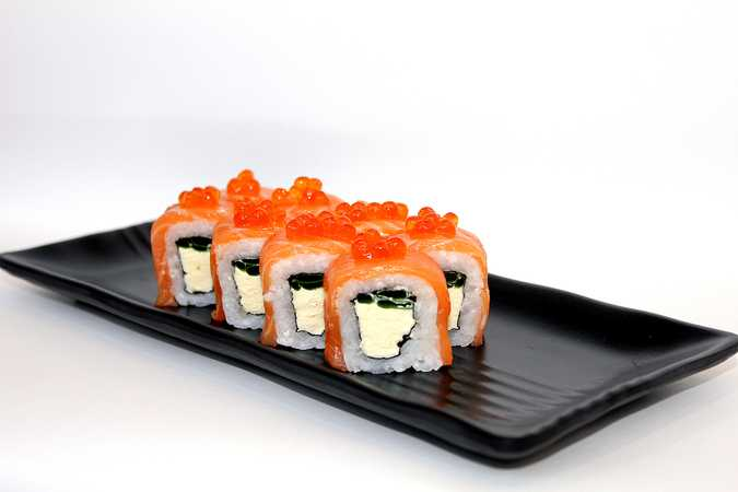 Kyoto with fresh salmon