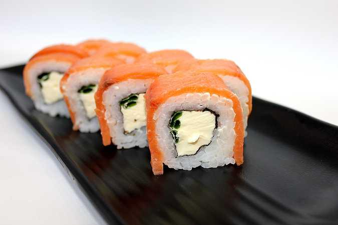 Kyoto with smoked salmon